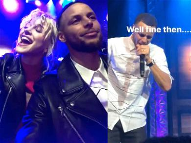 Stephen Curry Channels Rick James During Birthday Celebration