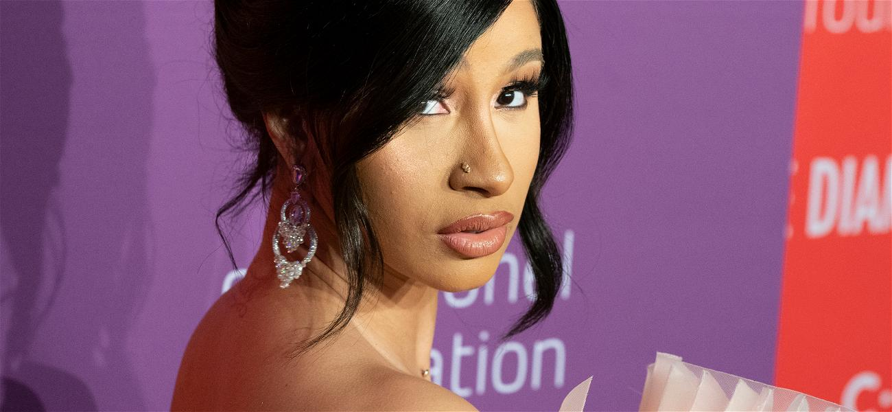 Cardi BBounces Down Stairs Pantless To Celebrate 'Up' Success