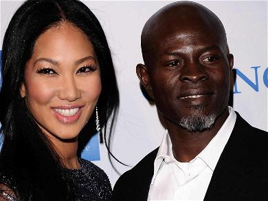 Kimora Lee Simmons Privately Working Out Custody Agreement With Djimon Hounsou