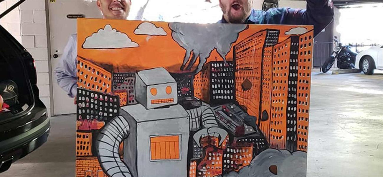 'Big Time Rush' Star Stephen Kramer Glickman Sells Show Painting for $1,000