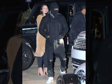 Jamie Foxx Brings His Third Wheel Out to Dinner