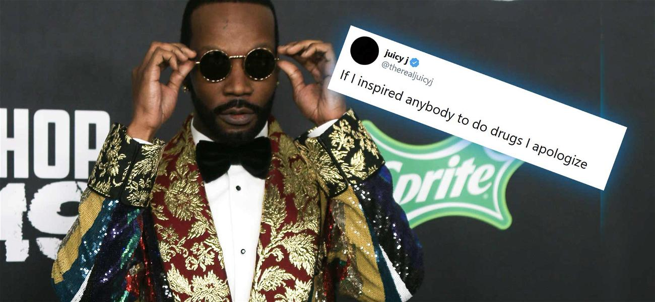 Rapper Juicy J Sorry For Pushing Drug Culture: 'If I Inspired Anybody To Do Drugs I Apologize'