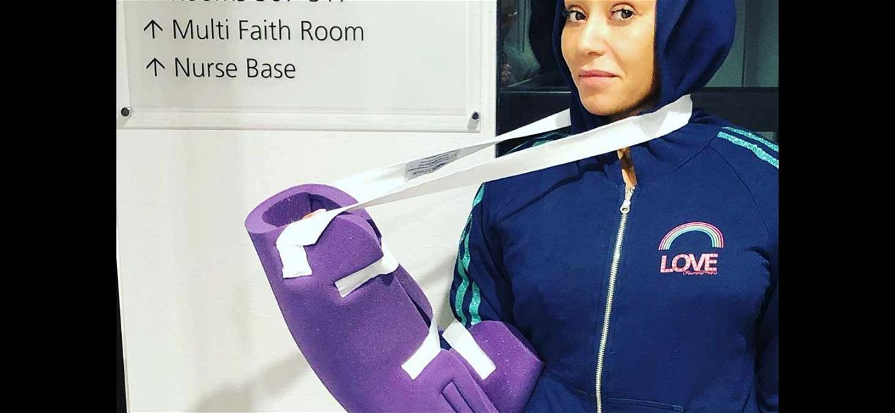 Mel B Recovering From Mysterious 'Severed Hand' Injury With the Help of The Spice Girls