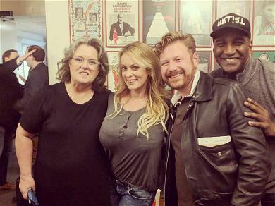 Rosie O'Donnell Invites Stormy Daniels to the Opening Night of Her DC Show