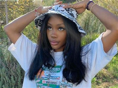 SZA Celebrates 'Good Days' Becoming No. 1 Song On Apple Music