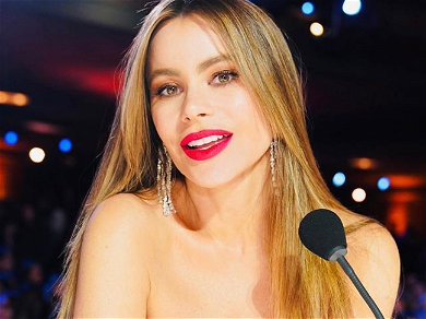 Sofia Vergara Opens Wide For Suggestive Snacktime