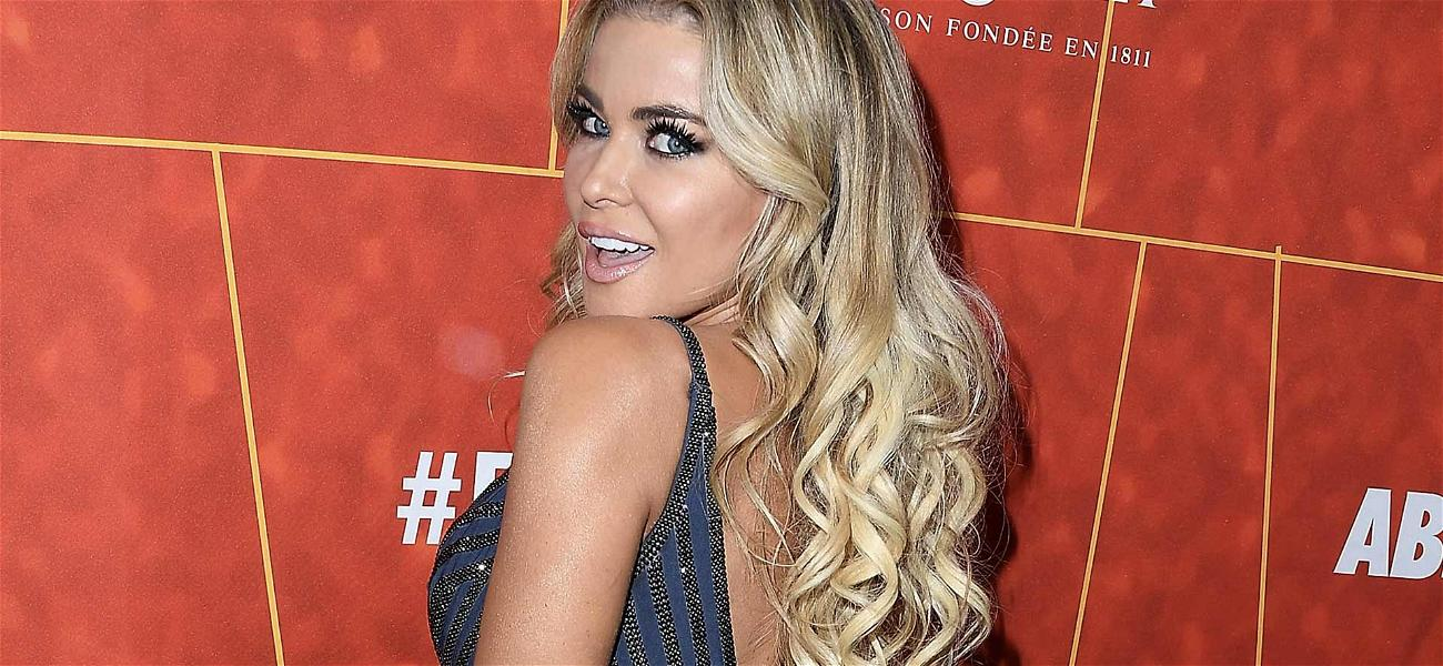 Carmen Electra Teases Fans With Racy Instagram Shot