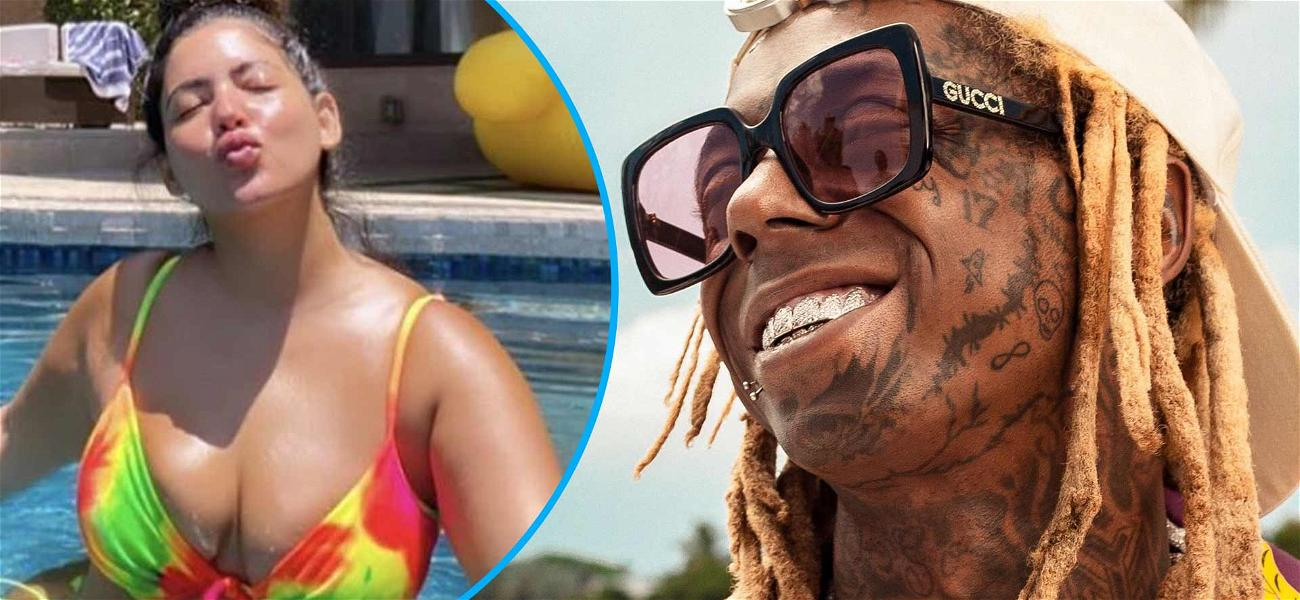 Lil Wayne Goes IG Official With GF Denise Bidot, Fans Confused By Out Of Character PDA