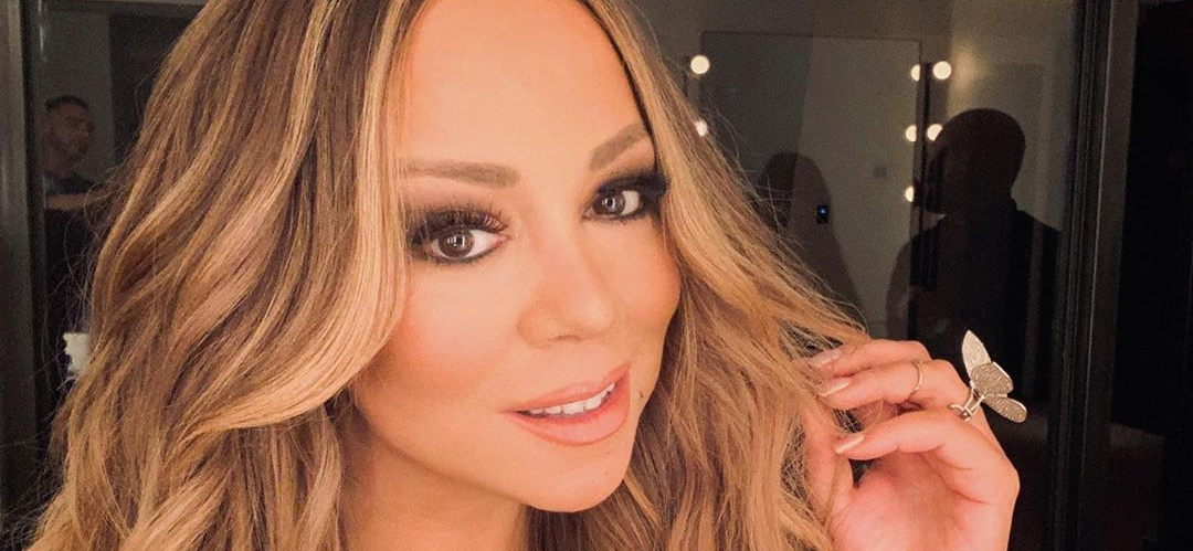 Mariah Carey Flaunts Tight Stomach In Unzipped Daisy Dukes Saying 'Vote Or Die'