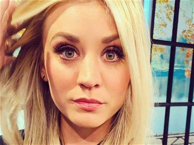 Kaley Cuoco Shows 'How We Wake Up' On Brand New Instagram Account