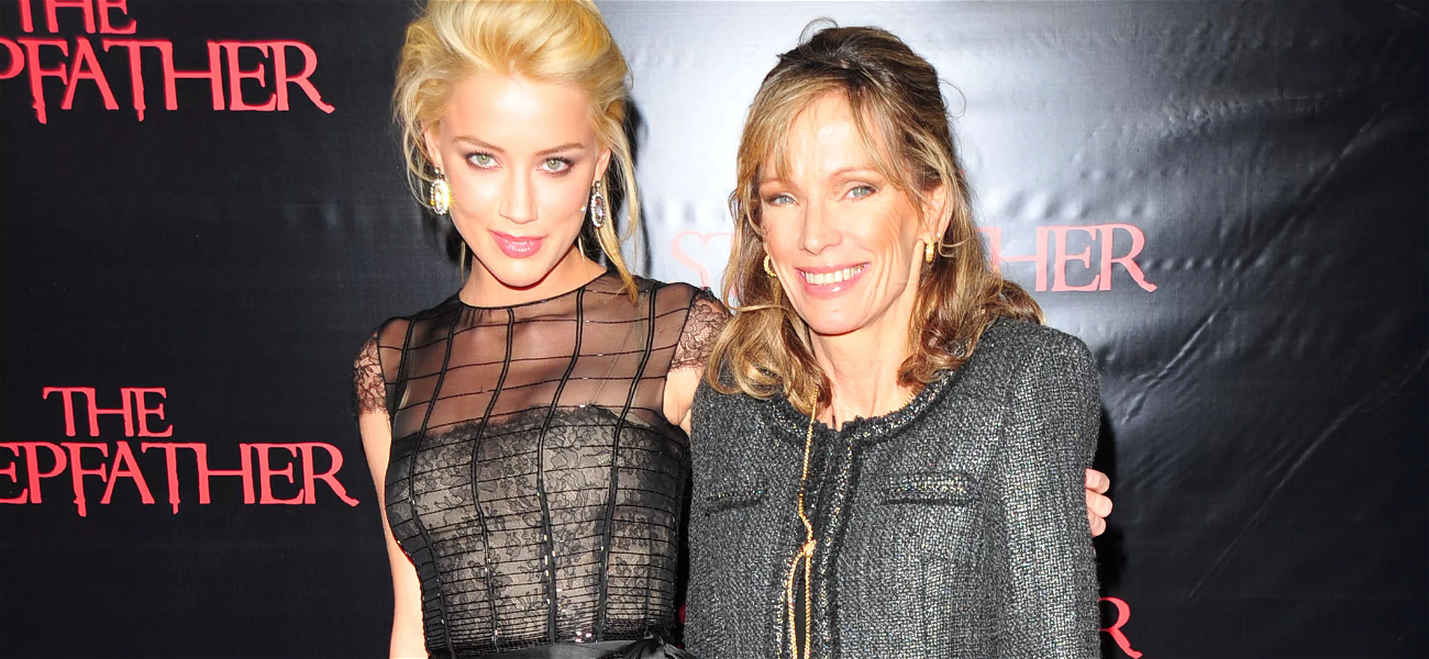 """Amber Heard Reveals Her Mother Has Died — """"I Am Heartbroken And Devastated"""""""