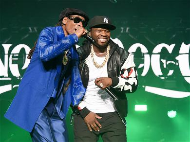 50 Cent Trolls Oprah For Falling on Stage and Snoop Dogg Chimes In