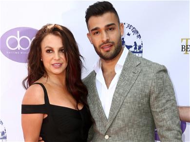 Britney Spears Makes Rare Red Carpet Appearance With Boyfriend, Sam Asghari