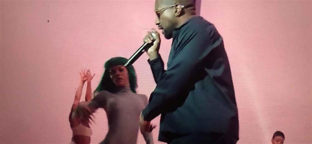 Kanye West Serving as Creative Director for Pornhub Awards, Performs With Teyana Taylor