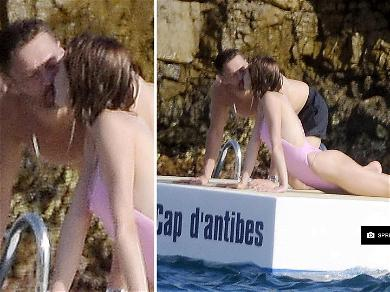 Ryan Seacrest Passionately Kisses Mystery Girl in South of France
