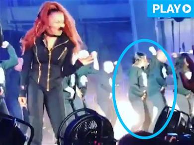 Jenna Dewan Tatum Reunites with Her Old Boss … Janet Jackson!!!