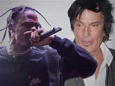 Tommy Lee is at War With Travis Scott Over This Concert Stunt