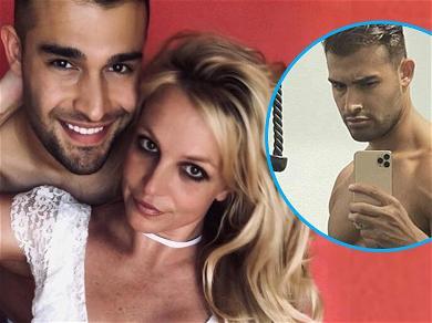 'Oops!' Britney Spears' Boyfriend Did It Again With Shirtless Muscle Selfie