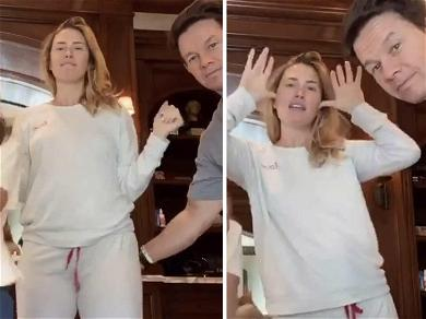 Mark Wahlberg Hilariously Smacks Wife Rhea Durham's Butt During 'Savage' Challenge