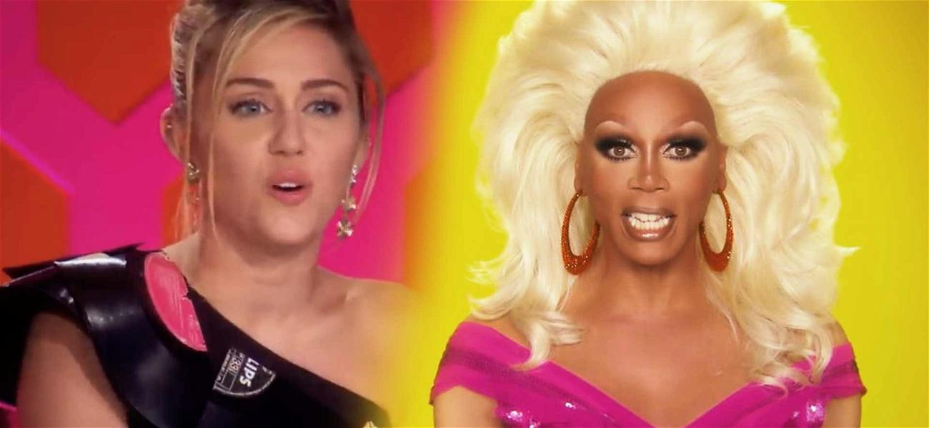 Miley Cyrus Raps with RuPaul On New Raunchy Dance Banger 'Cattitude'