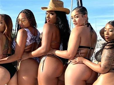 Megan Thee Stallion Goes Thirstier Than Ever In Topless 'Hot Girls' Pic With Four Girlfriends