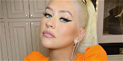 Christina Aguilera Spreads Legs Shirtless Without Bra For 2021