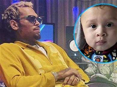Chris Brown Leaves Adorable Comment On Son's 'Drool Monster' Snap!