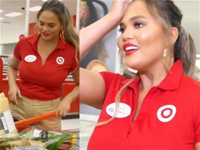 Chrissy Teigen Impersonates a Target Employee to Hawk Her Cookware