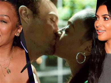 Kim Goes Wild When La La Anthony Makes Out With '90210' Co-star Amid Marriage Trouble
