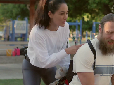 Brie Bella Confronts Daniel Bryan About Why He Won't Show PDA: 'You Used To Pinch My Butt'