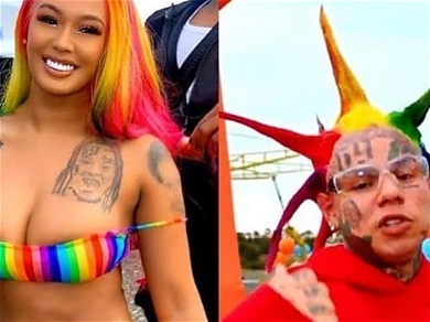 Tekashi 6ix9ine Getting ENGAGED?! Girlfriend Spotted Checking Out Huge Diamond Rings