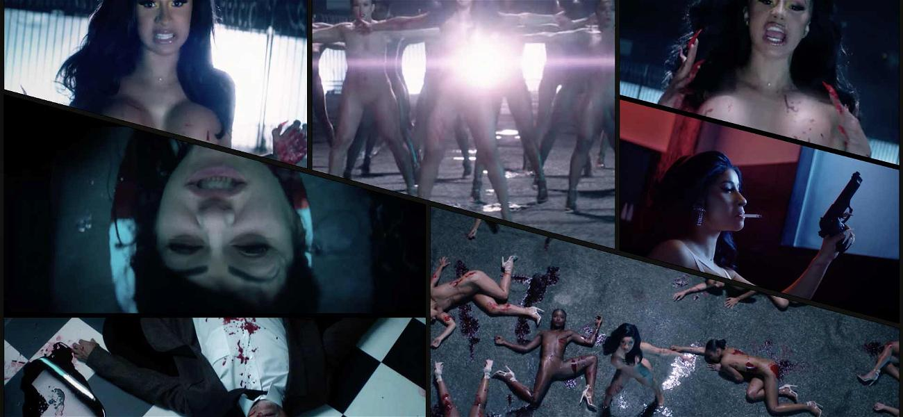 Cardi B's 'Press' Music Video is Full of Naked Bodies And Murder
