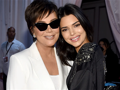 Kris Jenner Gets Protection From Kendall's Naked Swimming Stalker
