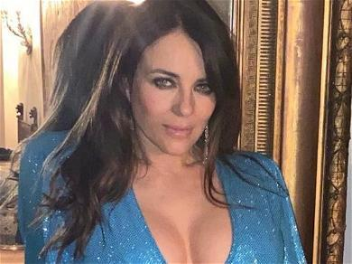 Elizabeth Hurley's Pandemic Bubbles Can't Be Contained