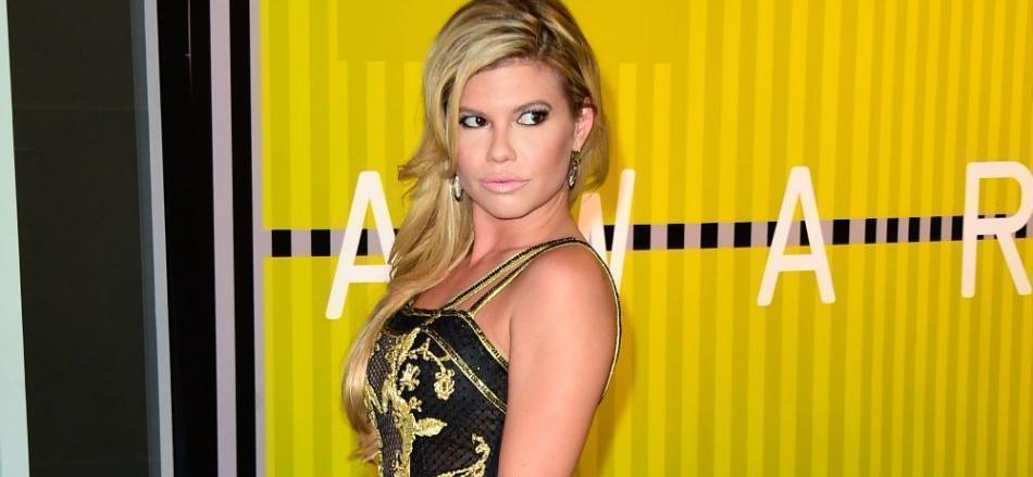 Chanel West Coast Is Fire In Unzipped Blue Bikini With A Unicorn Inflatable