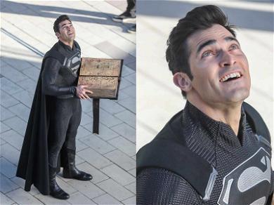 Tyler Hoechlin In New 'Elseworlds' Superman Costume: Once You Go Black…