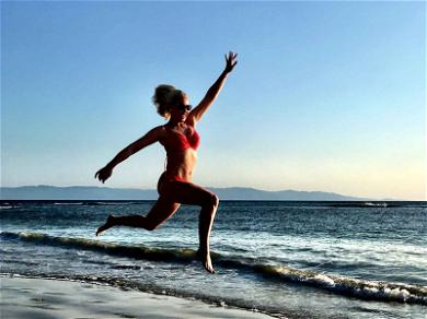 Katherine Heigl Is Literally Jumping for Joy on Mexican Vacation