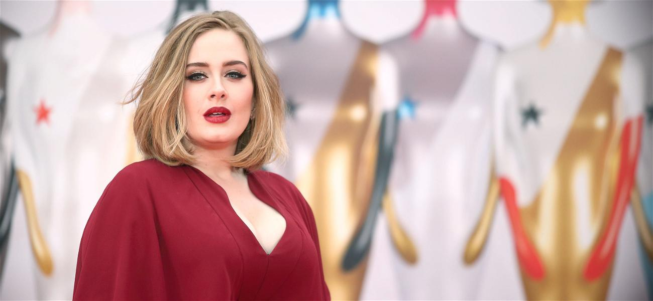 Adele Shows Off A Major New Look At Her Christmas Party