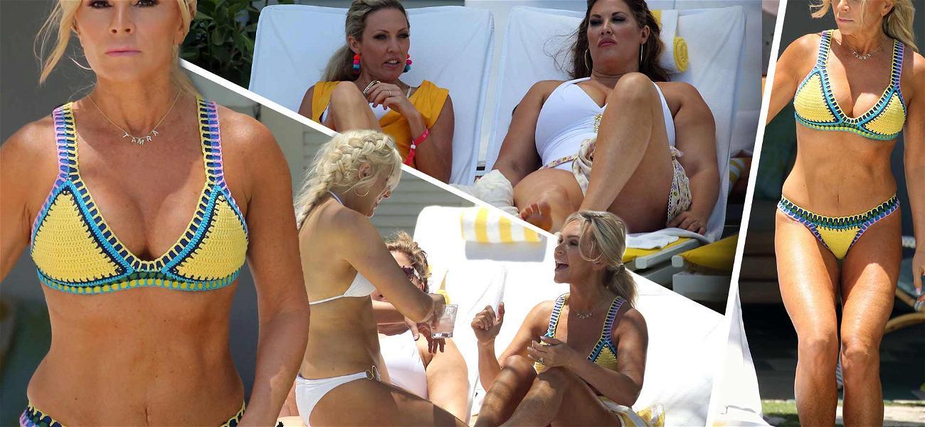 'RHOC' Star Tamra Judge Shows Off Banging Bikini Body During Miami Girls' Trip