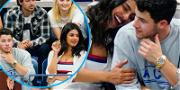 Nick Jonas & Priyanka Chopra Couldn't Keep Their Hands Off Each Other During US Open