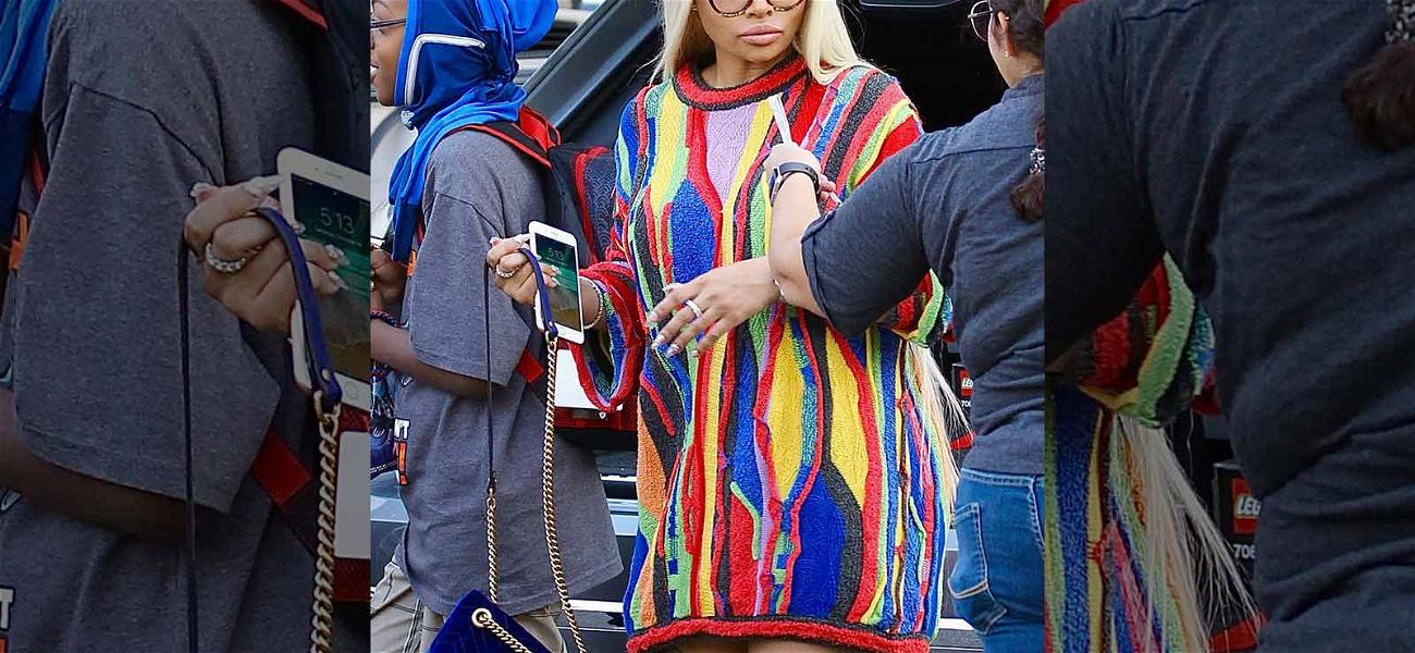 Blac Chyna Tries To Bring Back The Cosby Sweater … and Fails