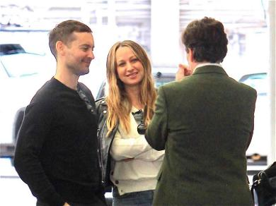Tobey Maguire and Jennifer Meyer Are the Poster People for Friendly Exes