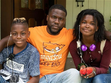 Kevin Hart's Wife Says He Deserves 'Best dad award' For Taking His Kids To Set