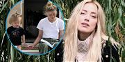 Amber Heard Shares First Post Since Mother's Death, Shows Off Tiny Twin!
