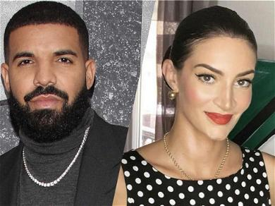 Drake's Baby Mama Hangs Out With Pope Francis In Rome