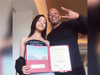 Dr. Dre Brags About His Daughter Getting Into USC on Her Own: 'No Jail Time!!!'