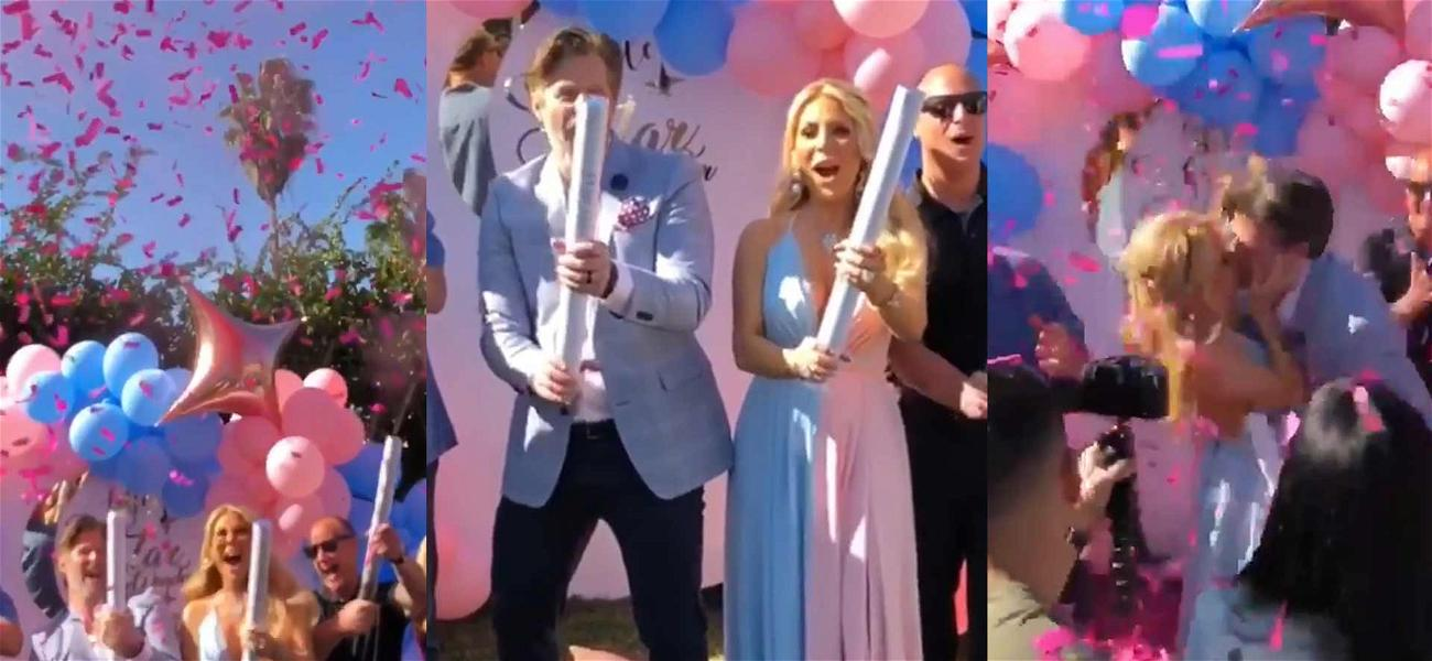 It's a Girl! 'RHOC' Star Gretchen Rossi Throws Lavish Gender Reveal Party