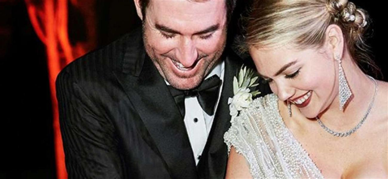 Kate Upton Reveals Sizzling Reception Look In Never Before Seen Wedding Photos
