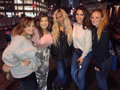 Bristol Palin Is Just One of the Girls On Night Out With 'Teen Mom' Co-Stars