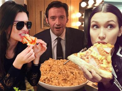 Our Favorite Celebrities Scarf Down Italian For Pizza & Pasta Month! ??